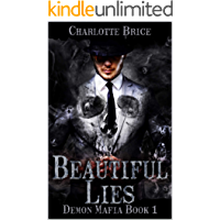 Beautiful Lies: Demon mafia gay romance book cover