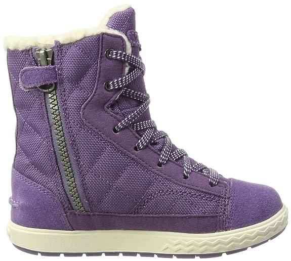 Viking Zip, Baskets Hautes Mixte Enfant, Violet (Lilac/Magenta 696), 39 EU