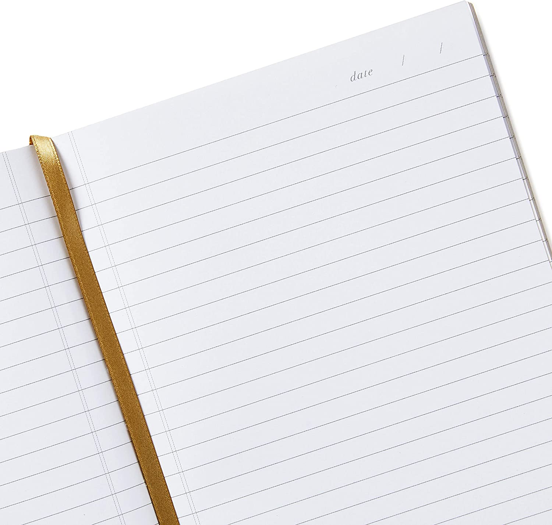 Gold Palm Print Hallmark Signature Gold Softcover Journal