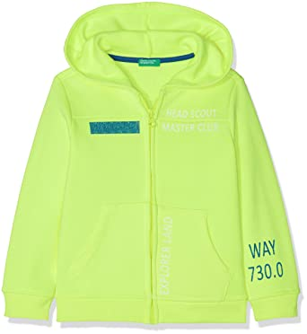 United Colors of Benetton Jacket W/Hood L/s, Chaqueta para Niños,