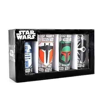 Star Wars - Icon (Set 4 Bicchieri Piccoli) Half Moon Merchandising ...