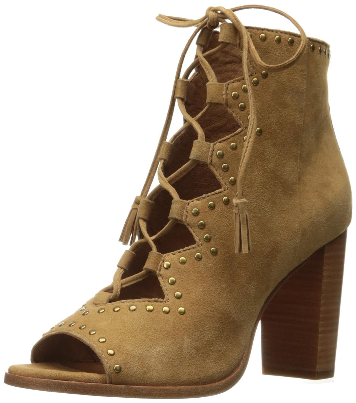 FRYE Women's Gabby Ghillie Stud Boot B01N0XAJS1 9.5 B(M) US|Sand Suede