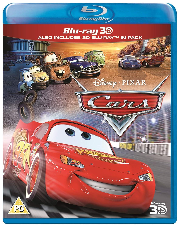 Cars 3D [Reino Unido] [Blu-ray]: Amazon.es: Cine y Series TV