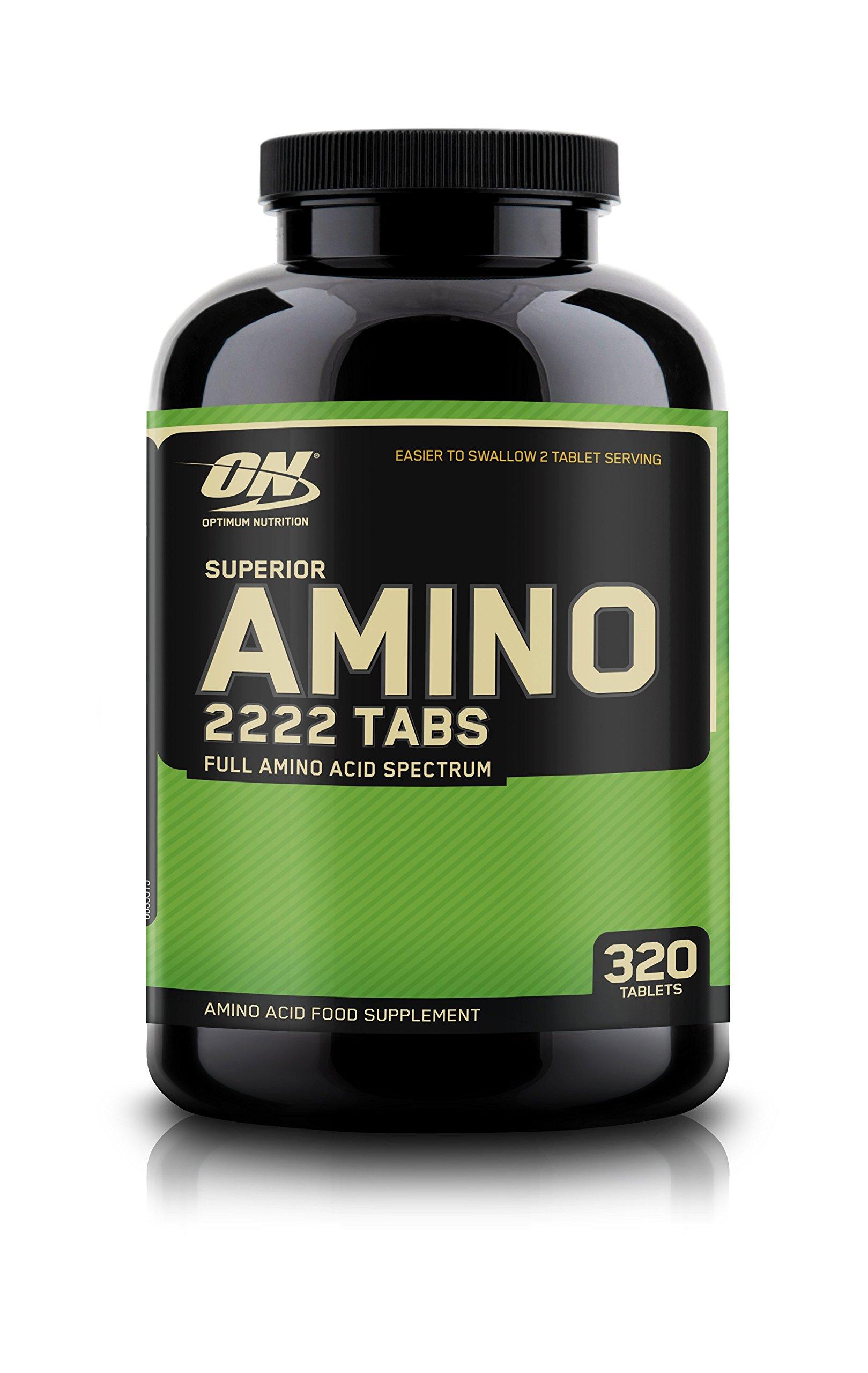 OPTIMUM NUTRITION Superior Amino 2222 Tablets, 320 Count