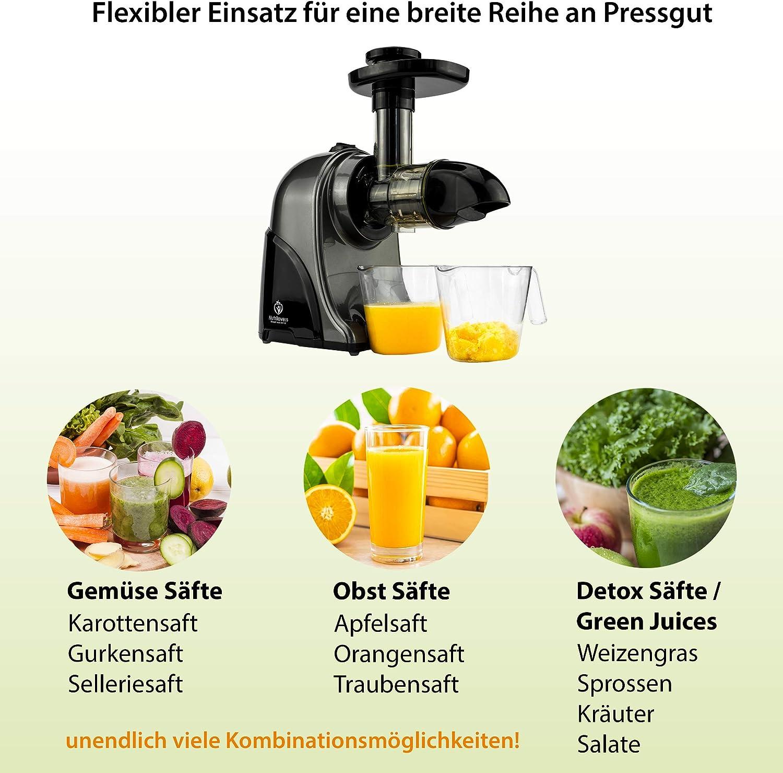 Vegane Säfte: Entsaften von Obst und Gemüse