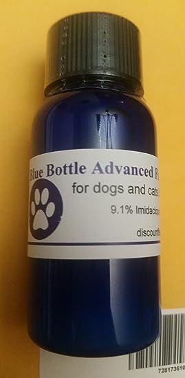 Azul Botella Control de pulgas Avanzado Tratamiento flex-kit de medicamentos para gatos perros 30 ml/1oz 9 - 75 Mensual dosis Generic: Amazon.es: Productos ...