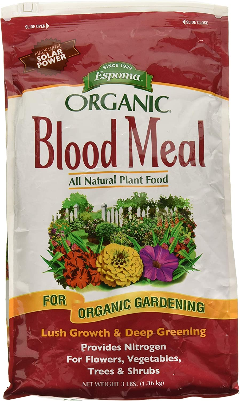 Espoma 163680 3 lbs Blood Meal Organic Fertilizer - DB03