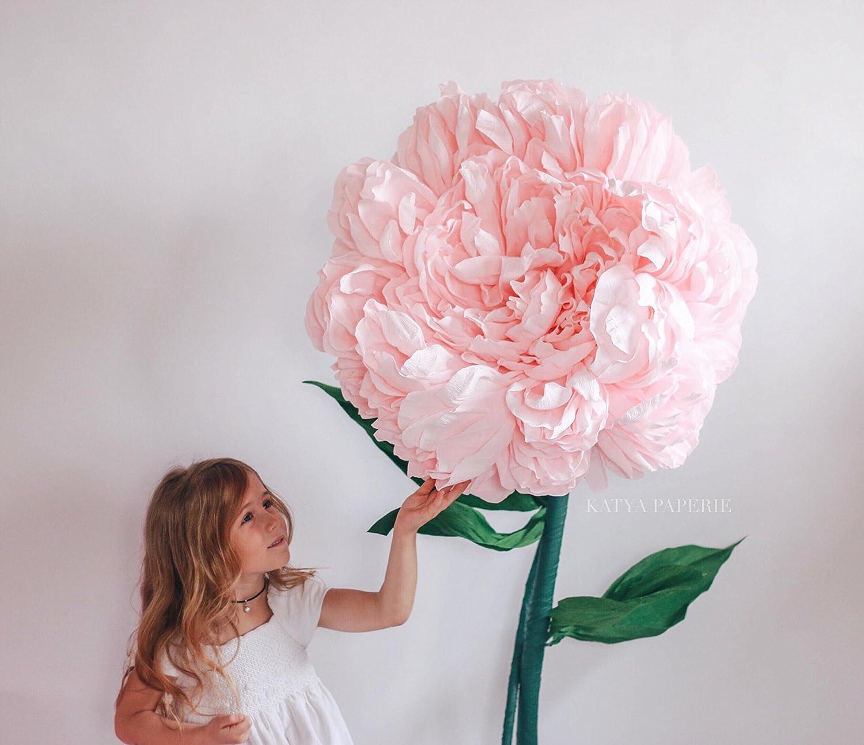 Amazon.com: Giant luxurious peony. Self standing flower. Alice in ...