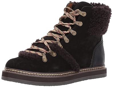 622a9aca1dae See by Chloe Women s Eileen Flat Boot W Shearling Fashion