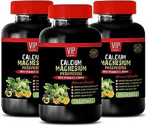 Bone and Joint Health for Women - Calcium Magnesium Phosphorus Vitamin D-3 & Boron - 1000 Calcium 500 Magnesium Vitamins - 3B (360 Capsules)
