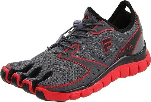 Fila Skele-Toes Amp Mens Gray Running