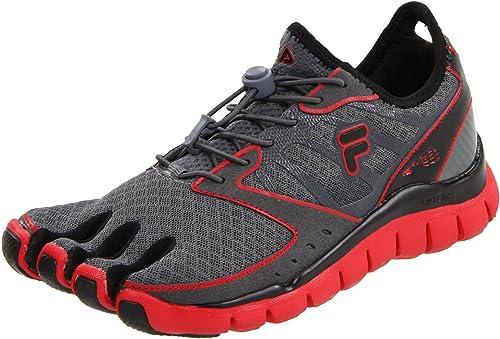 Fila Skele-Toes Amp - Zapatillas de Running de sintético para Hombre Negro Negro 45: Amazon.es: Zapatos y complementos