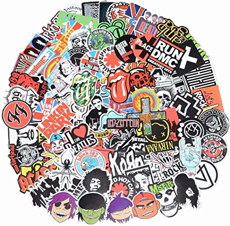 Music Band Funny Decal Sticker Car Cute Vinyl got rock n roll