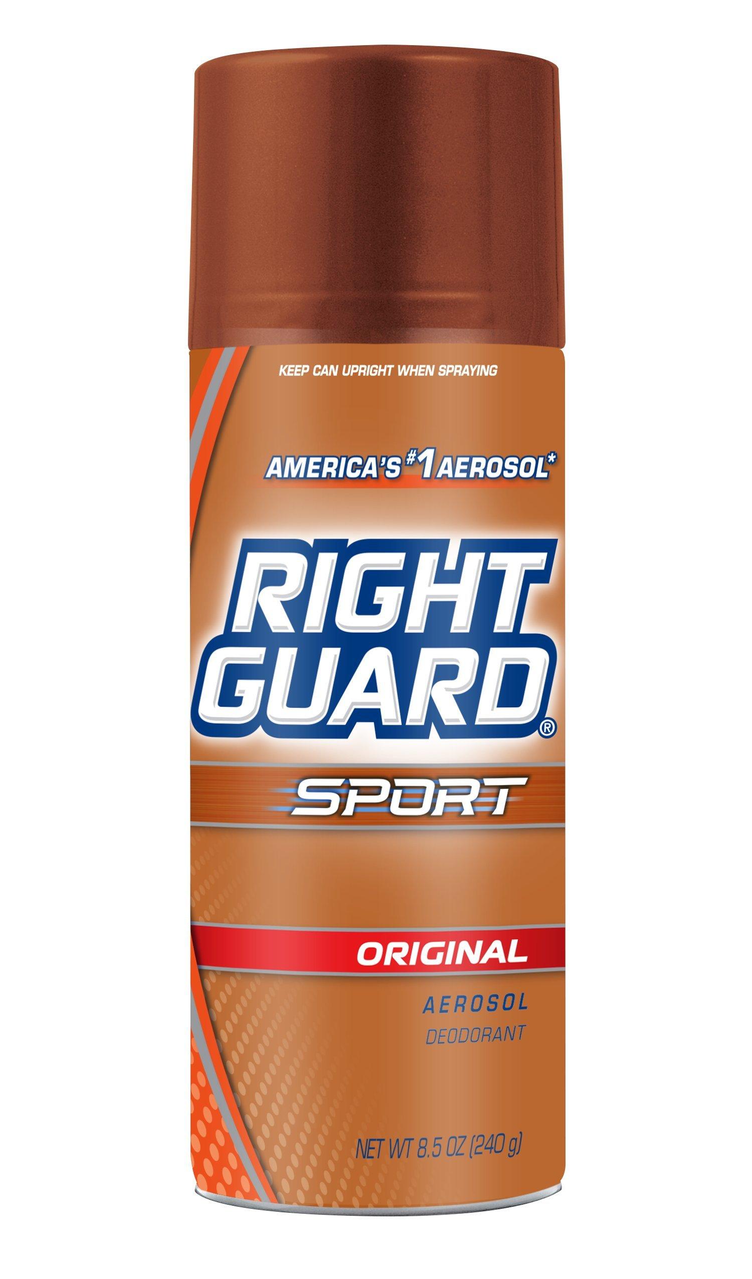 Right Guard 1432625 8.5 Oz. Sport Aerosol DEO Orig (Pack of 12)