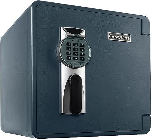 First Alert 2092DF Waterproof and Fire-Resistant Digital Safe, 1.31 Cubic Feet