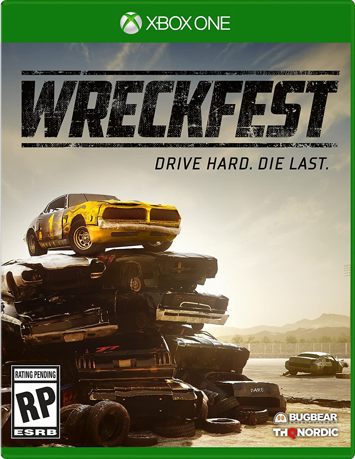 Amazon Com Wreckfest Xbox One Thq Nordic Video Games
