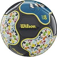 WILSON Sporting Goods Disney Mickey Mouse - Balón de fútbol (tamaño 3, 90 Aniversario)