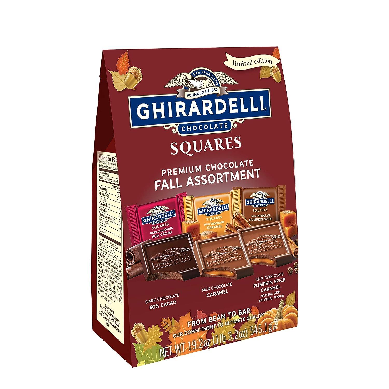 Ghirardelli Premium Chocolate Fall Assortment, 21.3 Oz