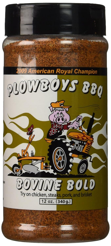 Plowboys BBQ Bovine Bold 12 Oz