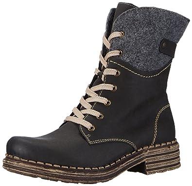 Rieker Y9604 Damen Halbschaft Stiefel  Amazon.de  Schuhe   Handtaschen 368d27ad69