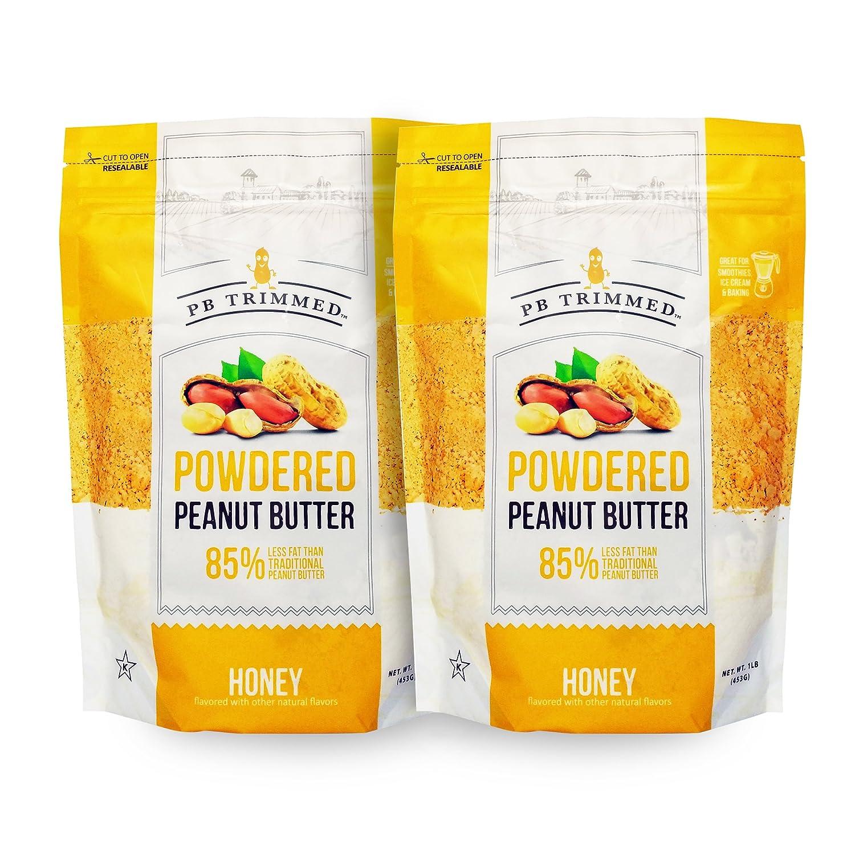63a75a1f57b8 PB Trimmed Powder Peanut Butter 1 LB (2-Pack) Honey