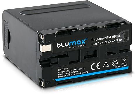 Blumax - Batería NP-F970 con salida USB de 5 V y DC 8,4 V Un