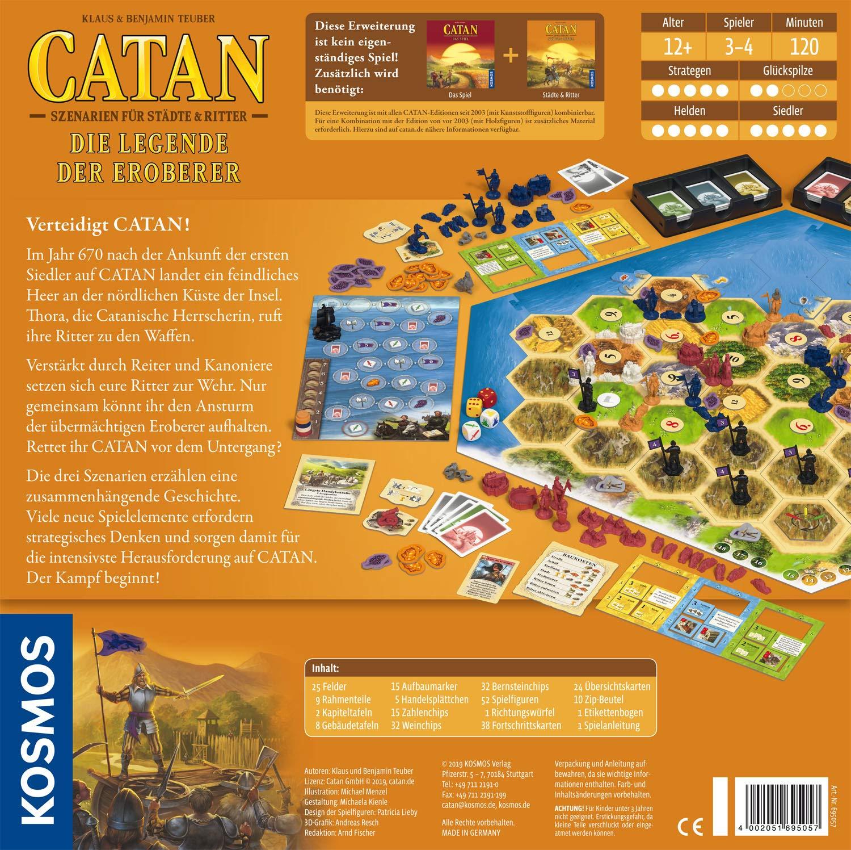 Catan - Die Legende der Eroberer: 3 - 4 Spieler: Amazon.es: Libros en idiomas extranjeros