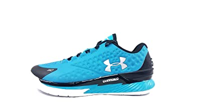 163b3cebb5799 Under Armour Curry 1 Low Panthers Teal Black Silver Sz 8 1269048-480