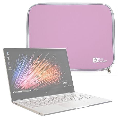 """DURAGADGET Funda Rosa De Neopreno para Portátil Xiaomi Mi Notebook Air 12.5"""" / 13.3"""""""