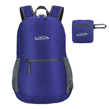G4Free 20L Ultra Ligero Resistente & resistente al agua plegable mochila plegable mochila para viajes,