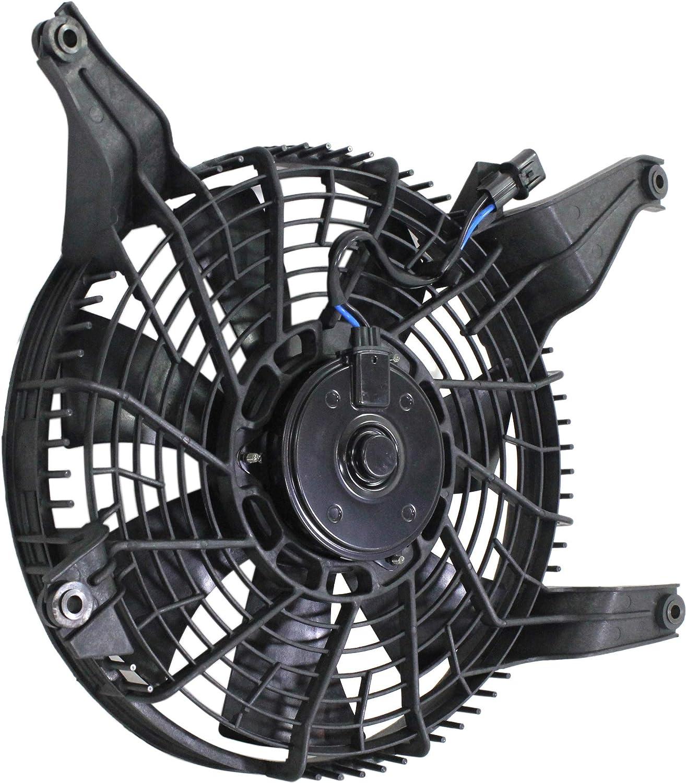 Cooling Fan Assembly New Mitsubishi Montero 2001-2003 MI3113117 MR360801