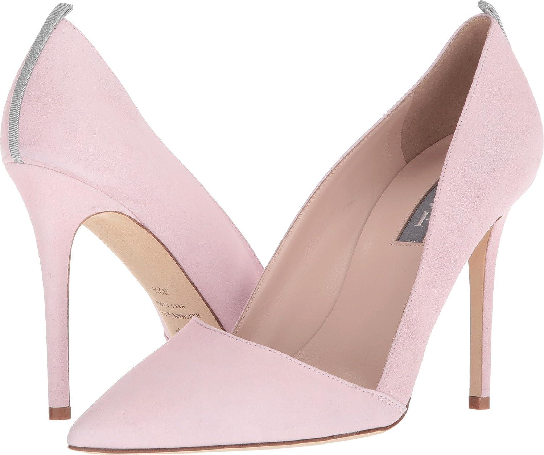 SJP by Sarah Jessica Parker Women's Rampling Dress Pump B076BQ6QN4 39.5 B EU|Pink Suede