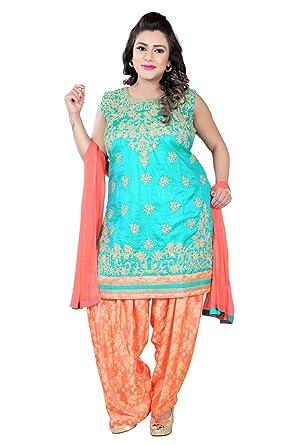 3dfbb0310a BEDI'S Plus Size Indian Readymade Suits For Women Ladies Patiala Salwar  Suit Indian Pakistani Party Wear Suit Kameez Woman Big Size Clothing  Bollywood Suit ...