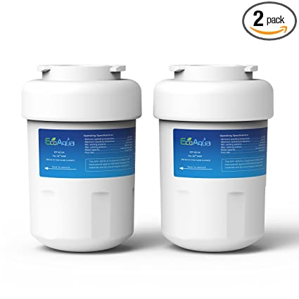 EcoAqua EFF 6013A Refrigerator Water Filter Cartridge 2 Pack