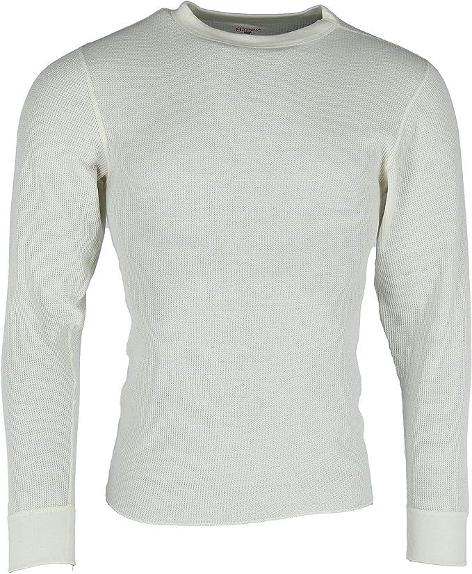 White Waffle Knit Thermal Sweater