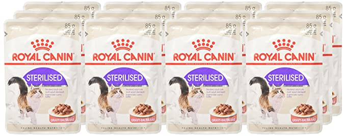 Royal Canin C-58387 Feline Sterilised Salsa - 85 gr: Amazon.es: Productos para mascotas
