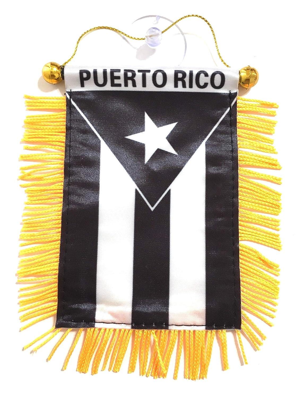 Puerto Rico Flags for Cars Homes Quality Made Banderas para Autos Borciua
