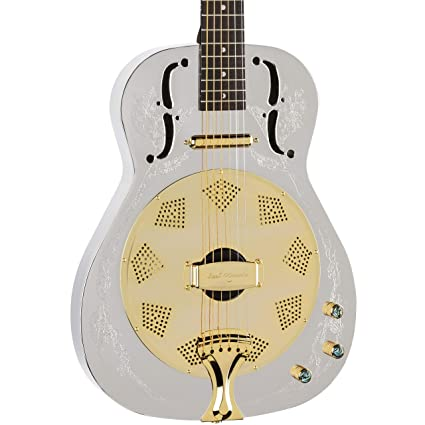 Luna Steel Magnolia Resonator Electric Guitar