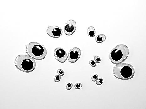 Unbekannt Augen Zum Aufkleben 100 Wackelaugen