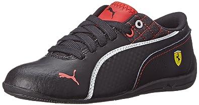 PUMA Drift Cat 6 Leather Ferrari JR Sneaker (Little Kid Big Kid) cd8fa022e