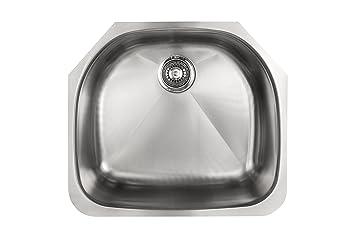 kindred kssxua 9d single bowl stainless steel undermount 9 inch deep kitchen sink kindred kssxua 9d single bowl stainless steel undermount 9 inch      rh   amazon com