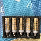5 Pack E11 Led Bulb 75w Or 100w Equivalent Halogen