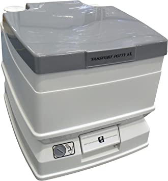 Dock Edge Passport Potty 8L SpaceSaver Portable Toilet F008002