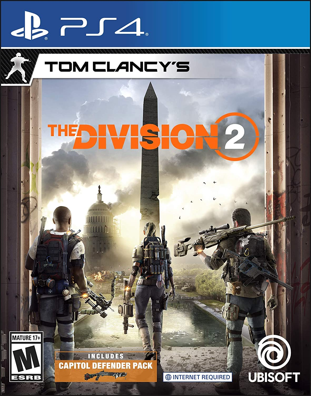 Amazon com: Tom Clancy's The Division 2 - PS4 [Digital Code
