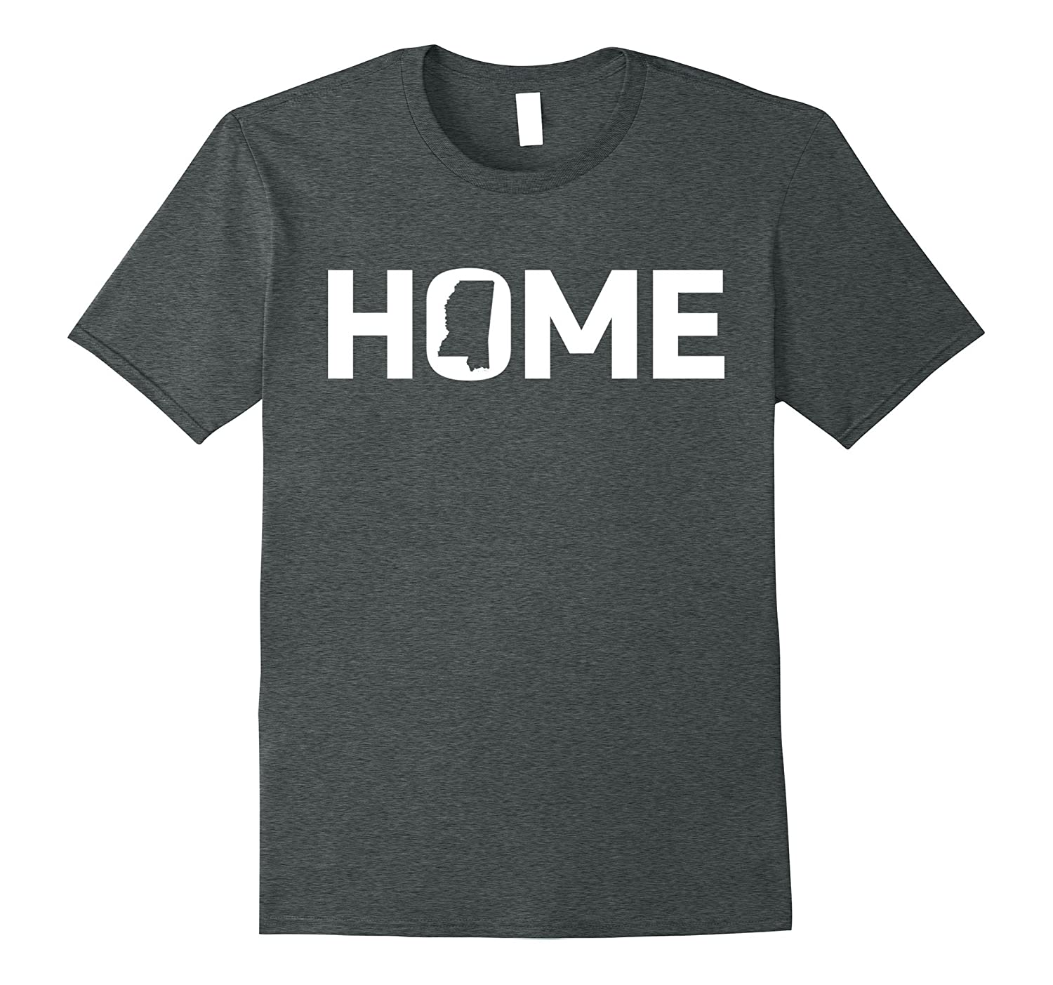 State Pride Home Mississippi T-Shirt for Mississippians-Loveshirt