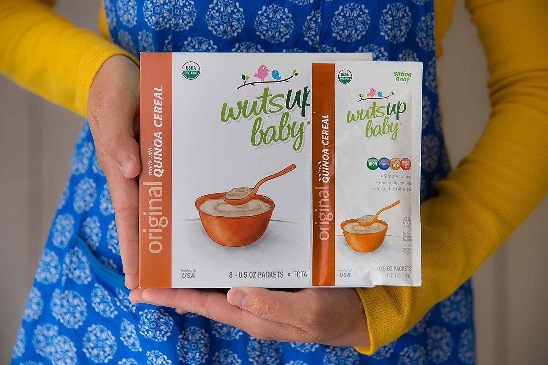 2 paquetes de viaje de cereales para bebés y bebés de Quinoa ...