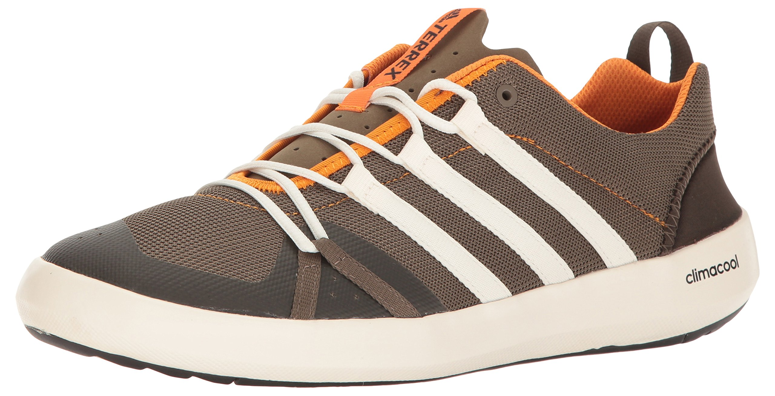adidas Outdoor Men's Terrex Climacool Boat Water Shoe, Cargo Brown/Chalk White/Umber, 6.5 M US