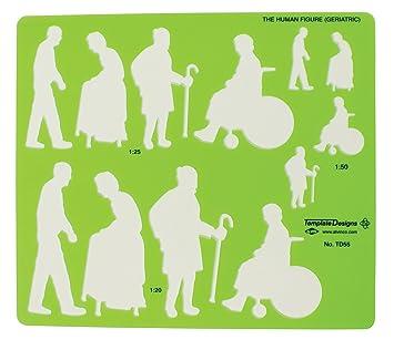 amazon co jp alvin human figure template geriatric by alvin