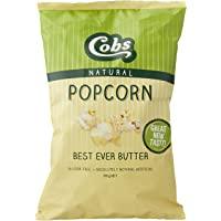 Cobs Natural Butter Popcorn, 12 x 100 Grams