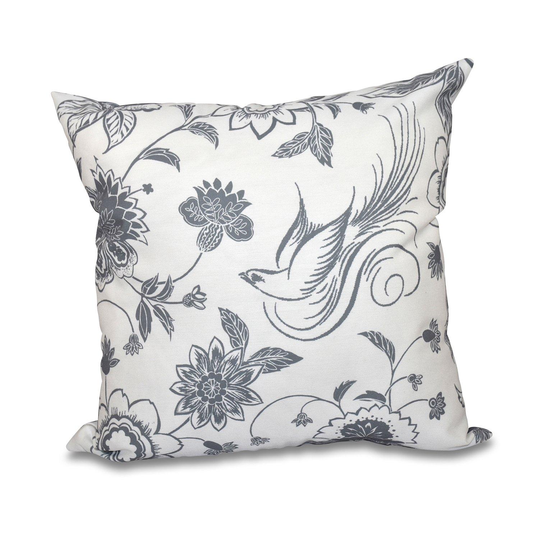 E by design O5PFN497GY2-20 Printed Outdoor Pillow